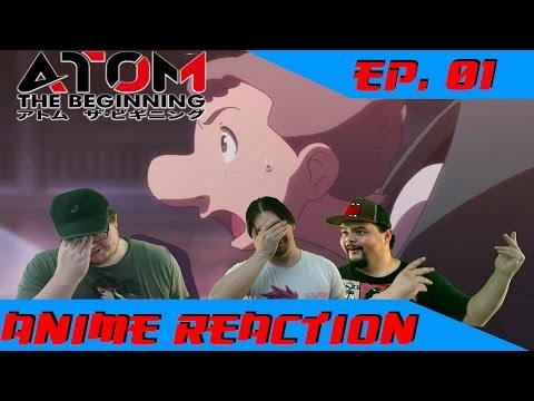 Anime Reaction: Atom the Beginning Ep. 01