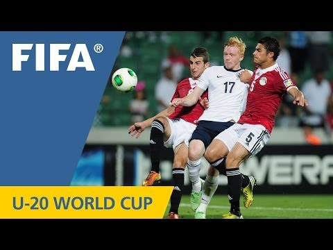 Egypt shock England in the late going
