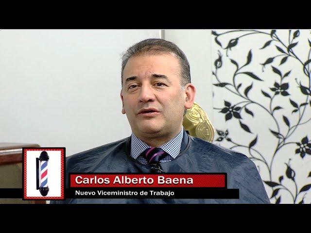 La Barberia con Carlos Alberto Baena nuevo viceministro de relaciones laborales
