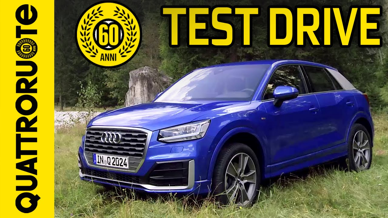 nuova audi q2 suv il test drive di quattroruote youtube. Black Bedroom Furniture Sets. Home Design Ideas