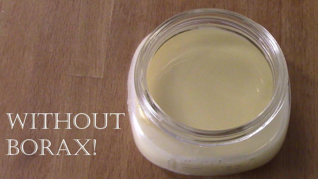 Substitute for borax in facial creams