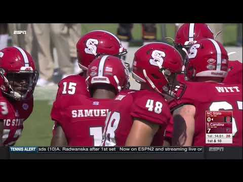 2017.09.02 NC State Wolfpack vs South Carolina Gamecocks Football