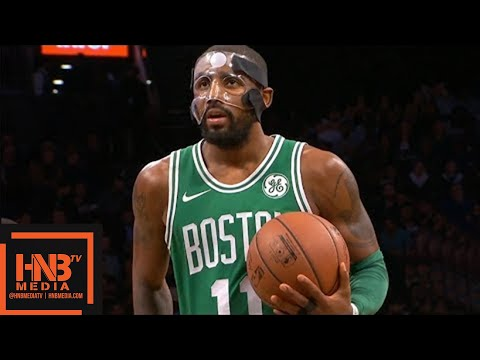 Masked Kyrie Irving (25 pts, 5 ast) Full Highlights vs Nets / Week 5 / Celtics vs Nets
