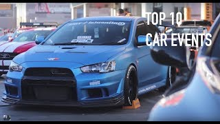 top 10 car events you must attend