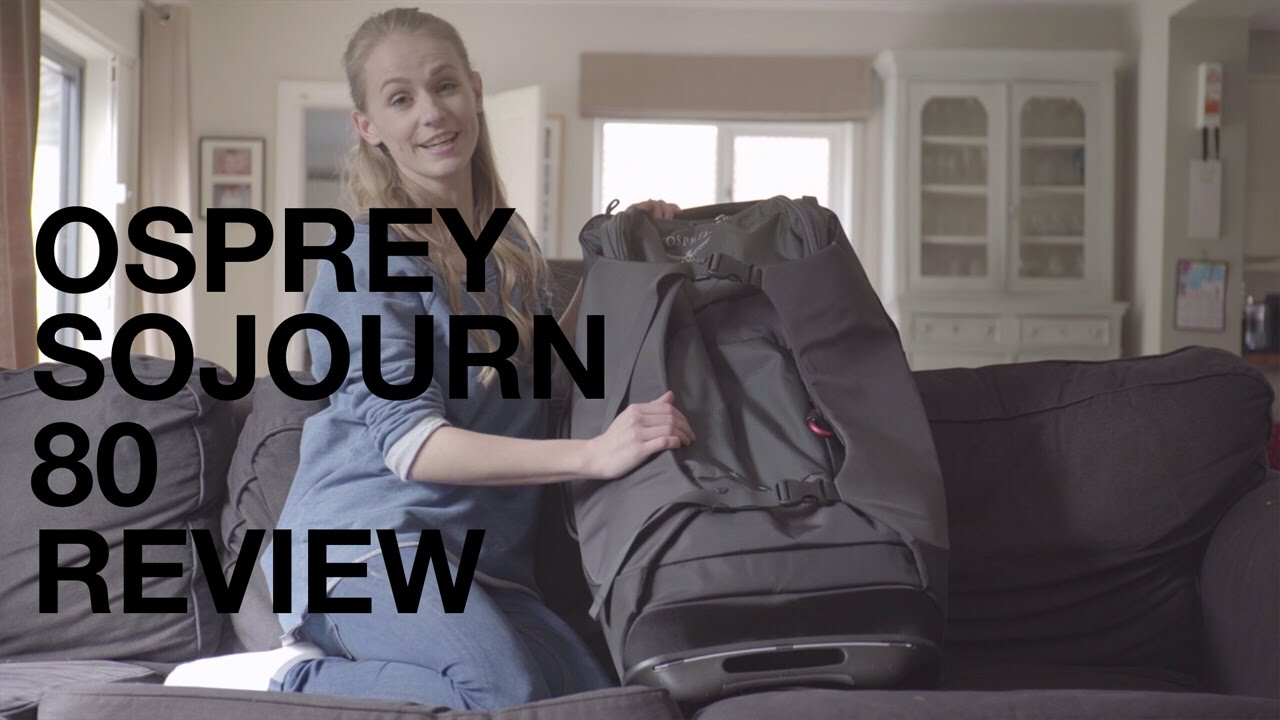 Osprey Sojourn 80 - Travel Backpack With