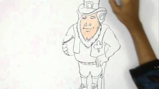 How to Draw St. Patrick