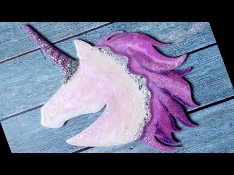 33. 🦄 Resin Unicorn GIVEAWAY ✨ DIY Resin Art