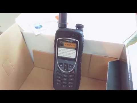 Presentacion del Iridium Extreme Push to Talk PTT Telefono satelital y radio. Que incluye el Paquete