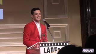 Rami Malek's Speech at the LAOFCS Awards 2019