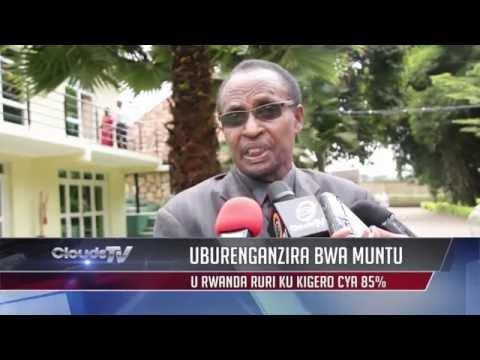 clouds tonight:Mu Rwanda iyubahirizwa ry'uburenganzira bwa mount rigeze kuri 85%.