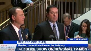 Malzberg | Rep. Ted Poe: Positive Thing Nunes was on WH Grounds Day Before His Presser on Leaks