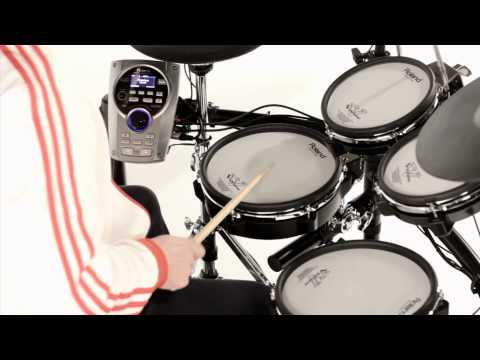 Roland V-Tour and V-Compact Drum Overview