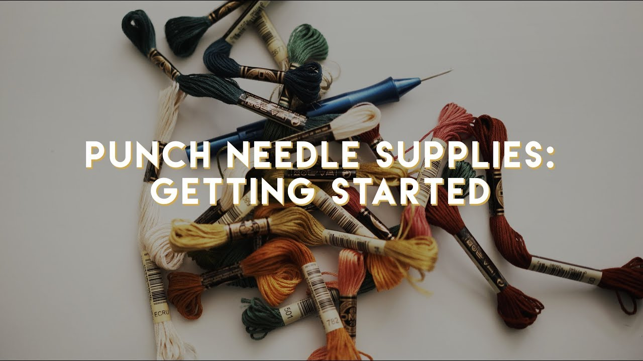 Punch Needle Supplies How To Get Started Ultra Embroidery
