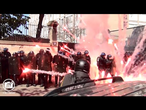 Manif du 1er Mai 2016 - l'affrontement jusqu'à Nation - Paris