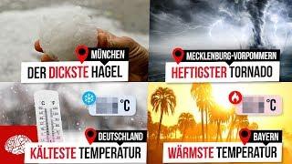 -50 Grad in Deutschland? Die krassesten Wetterrekorde