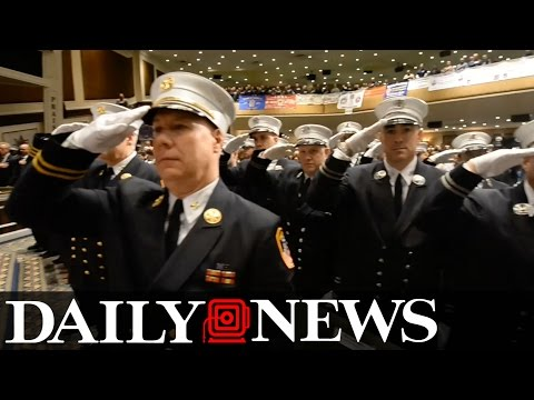 New York's Bravest Promote Chiefs, Marshals