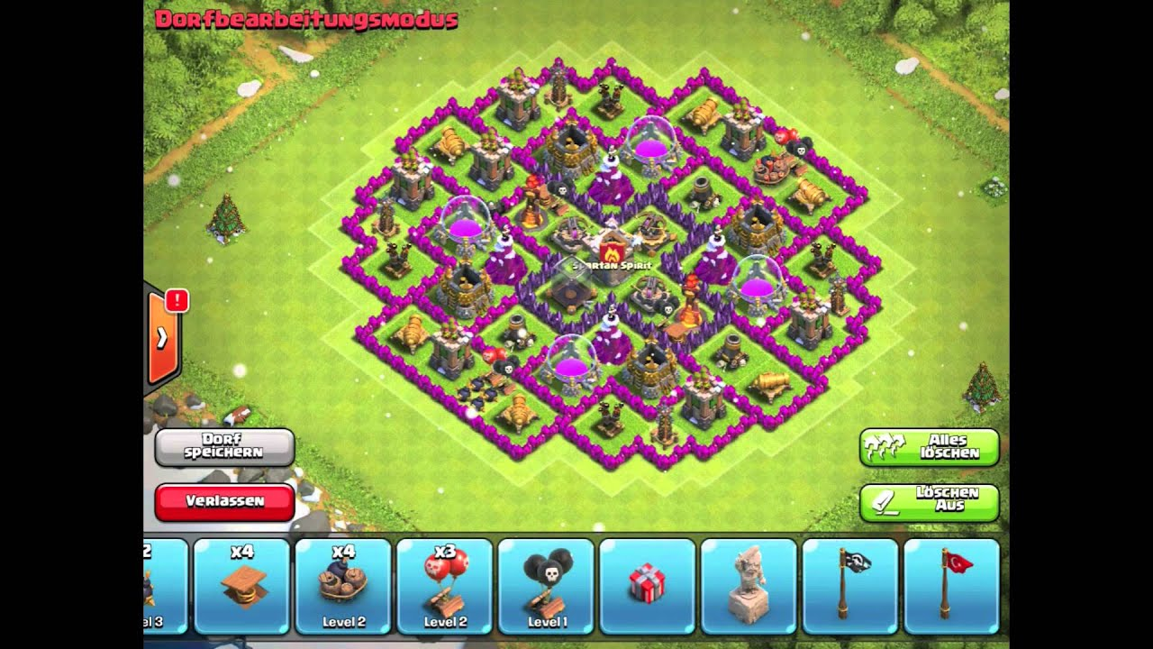 Clash of clans best th 10 farming base youtube