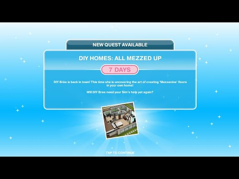 CARA MENYELESAIKAN DIY HOMES: ALL MEZZED UP QUEST | THE SIMS FREEPLAY INDONESIA