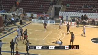 Malcolm Grant Knocks Down the Step Back Three! 2015 Playoffs: Power vs. Express (Game 3)