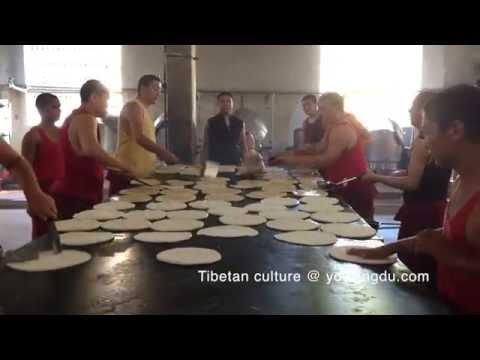 Monks Making Balep – Whole Process
