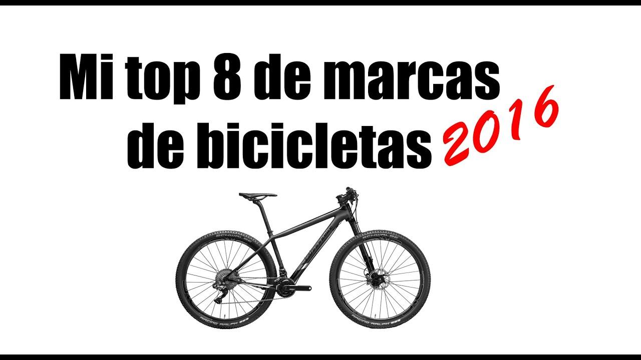Las 8 marcas de bicicletas que más me han sorprendido en 2016 - YouTube