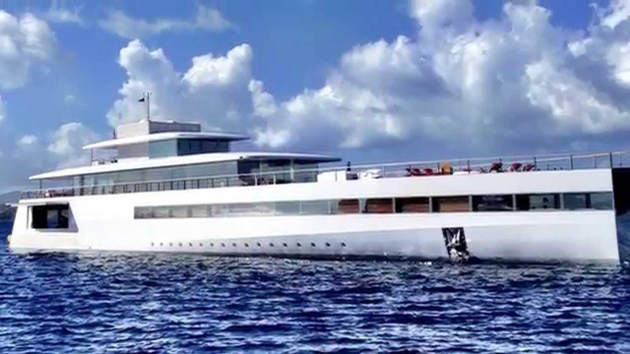 Steve Jobs' yacht captured by Cape innkeeper! - YouTube