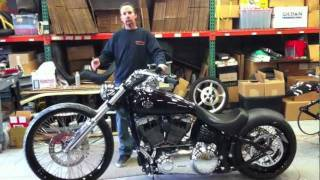 Bitchin Harley Davidson Rocker Conversion Kit.mov