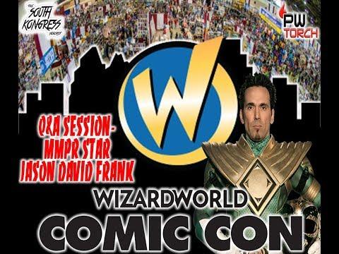 Wizard World Comic Con Austin- Q&A with Power Rangers' Jason David Frank