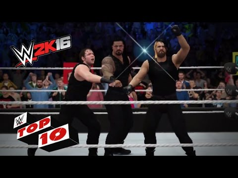Dangerous Dives Thru the Ropes: WWE 2K16 Top 10