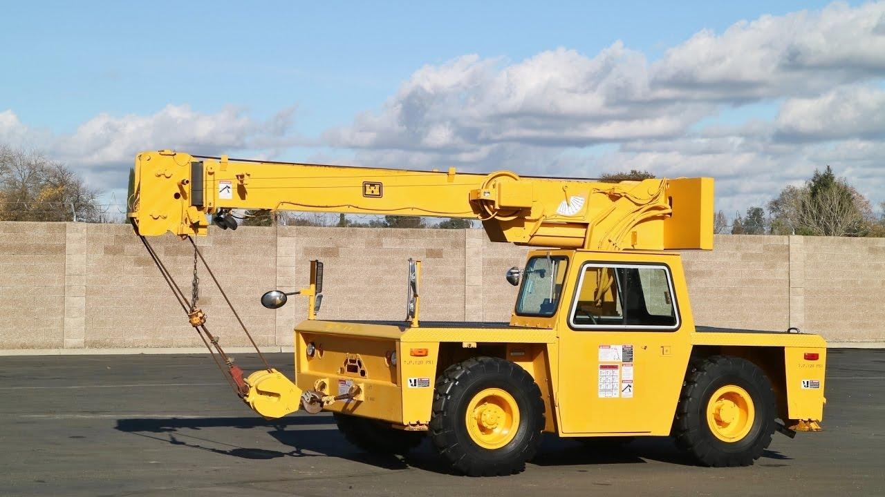 1997 Grove AP308 Carry Deck Crane