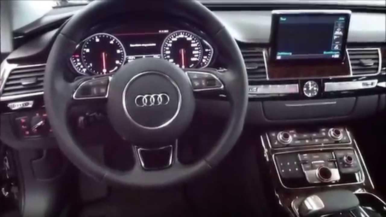 Audi Vs Mercedes >> 2014 Audi A8 Exterior & Interior 4.2 V8 TDI Quattro 385 Hp ...
