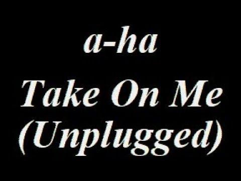A-Ha - Take On Me (Unplugged) Instrumental Track