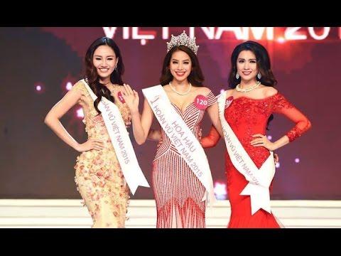 Hoa hậu Hoàn Vũ Việt Nam 2015 - Trao giải