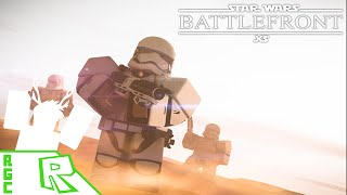 Roblox Gameplay Kommentar - Star Wars Battlefront!