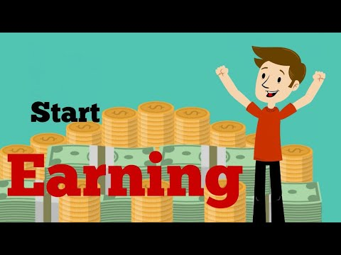 Earn mony online  make money online How to make money fast [2017] [HD]