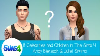 If Celebrities Had Children in The Sims 4: Andy Biersack and Juliet Simms
