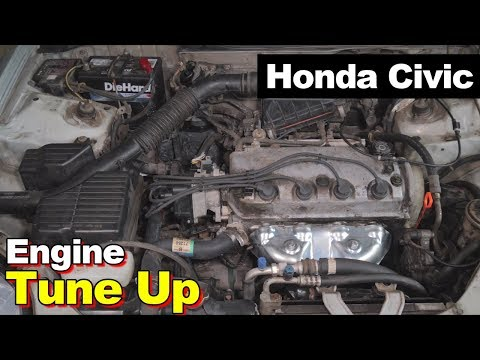 2000 Honda Civic 1.6L Exhaust Manifold Catalytic Converter Tune Up Spark Plugs Wires Cap Rotor