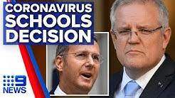 Coronavirus: Mixed messages on schools, Australia's curve   Nine News Australia