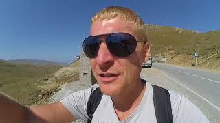 Высокогорное озеро Кезенойам, Хой, Чечня. Чеченский автостоп. Эпизод 75