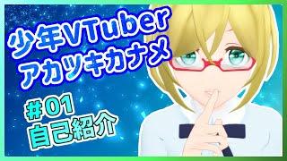 アカツキカナメの動画「【01】Vtuber幻想少年カナメ【自己紹介】」のサムネイル画像