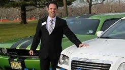 Limousine Services in New Jersey offers for Wedding and Prom, a Green Hornet Stretch Limo!