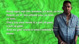 Kendrick Lamar - Money Trees (ft. Jay Rock) - Lyrics