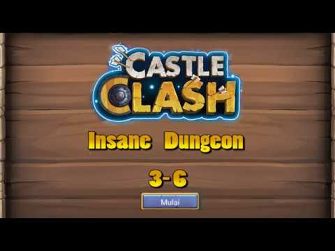 Castle Clash   Insane Dungeon 3   6 F2P