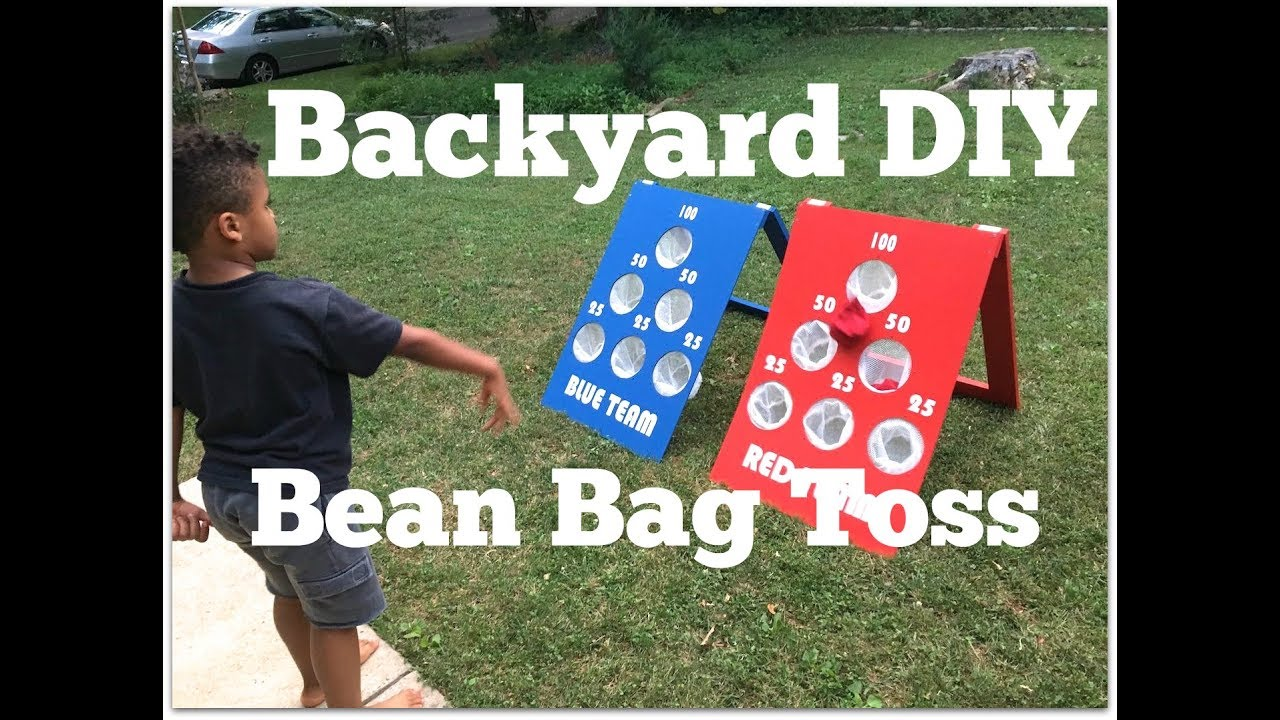 How To Make A Diy Bean Bag Toss