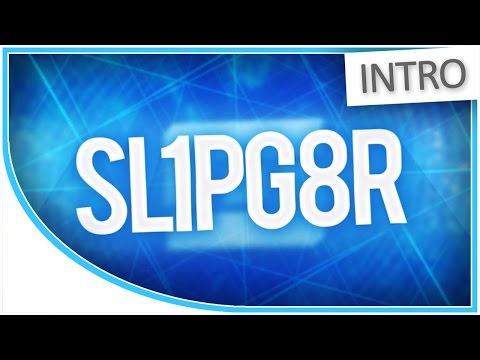 [INTRO] @Sl1pg8r's 2D YouTube Intro (Animated AE Shape Layers 'n Stuff) - 60fps - YouTube Intro