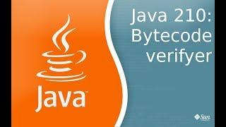 Урок Java 210: Byte code verifier