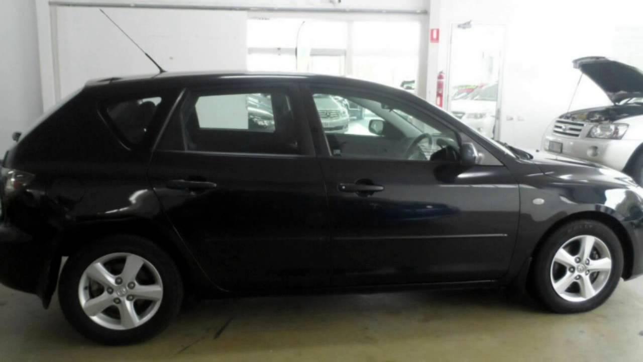mazda 3 2008 hatchback black