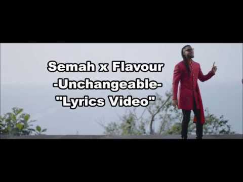 Semah X Flavour - Unchangeable - LYRICS VIDEO - YouTube