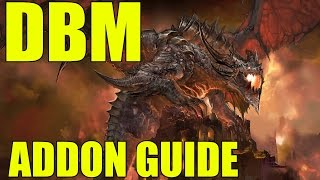 World of Warcraft How To Addon Guide DBM Deadly Boss Mods