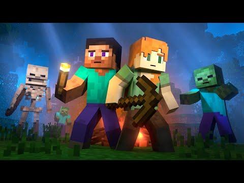 SURVIVAL – Alex and Steve Life (Minecraft Animation)